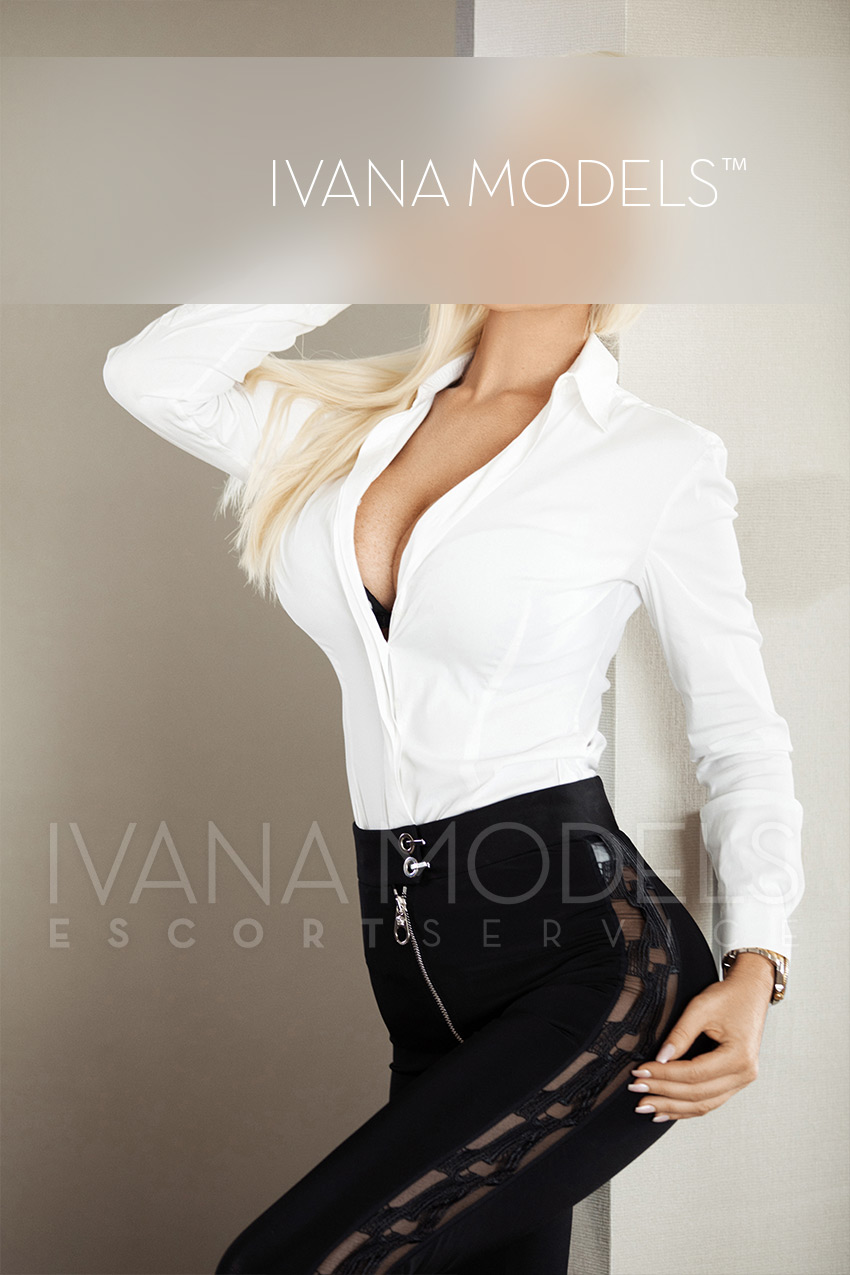 Luxury Escort Kylie with exclusive travel escorts by Ivana escort agency