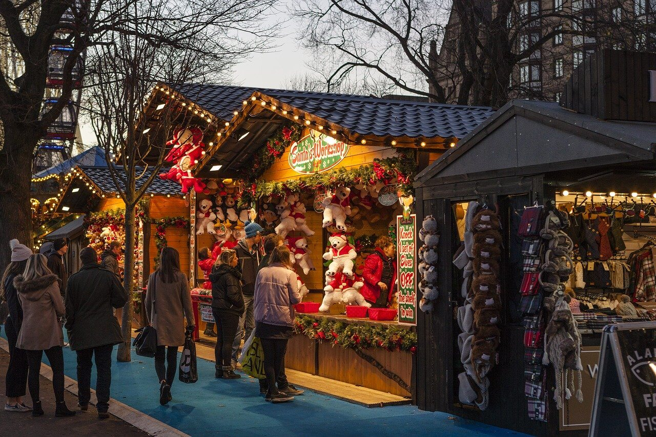 The biggest christmas markets in Hamburg