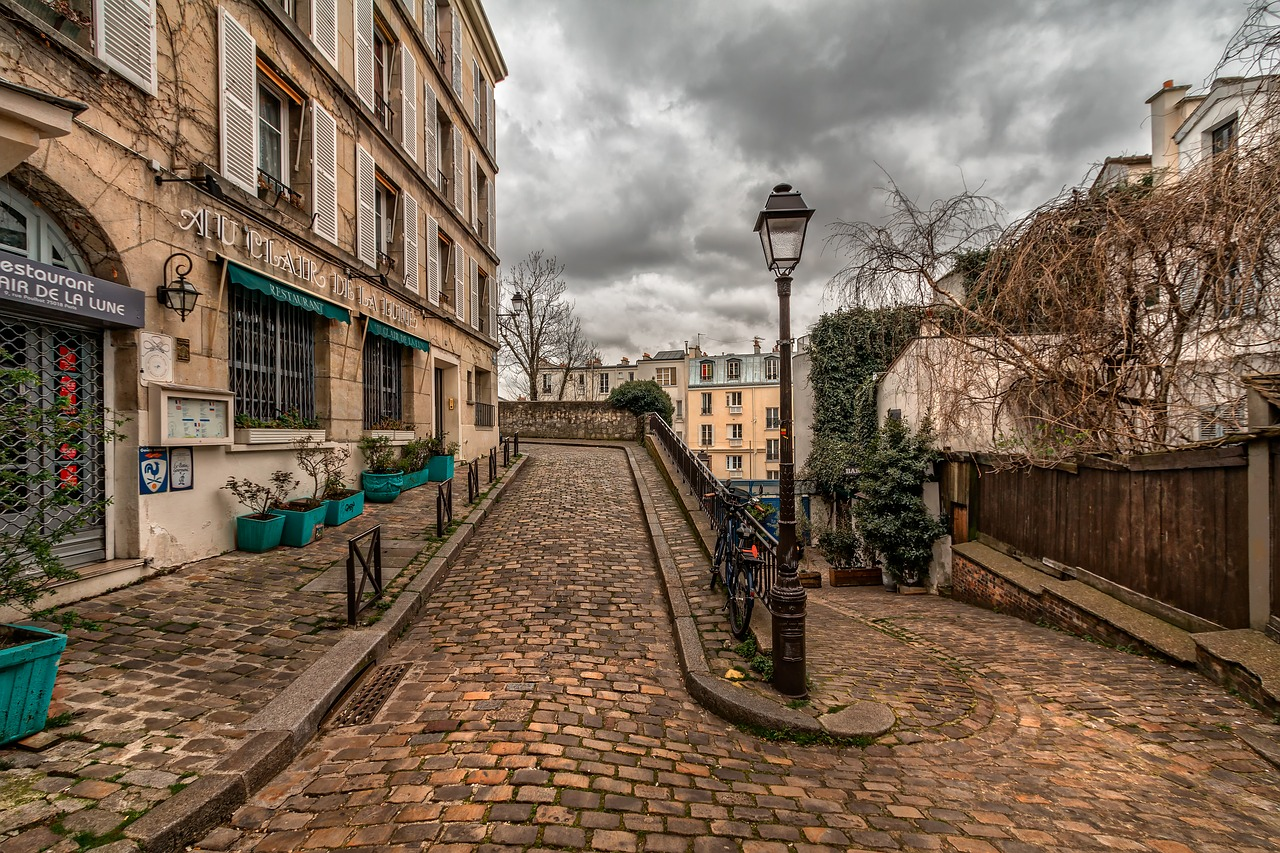 Montmartre Path Paris France