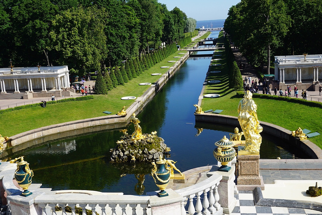 Saint Petersburg Peterhof Palace Russia